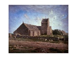 The Church of Greville, 1871-1874 Giclee Print by Jean-François Millet