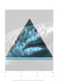 White Shark Soon History Posters par Antoine Tesquier Tedeschi