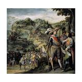 Recuperación De La Isla De San Cristóbal, 1634 Giclee Print by Felix Castello
