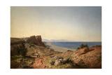 Un Paisaje, Recuerdos de Andalucía, Costa del Mediterráneo, Junto a Torremolinos, 1860 Giclee Print by Carlos de Haes