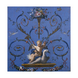 Allegory of the Fame, Ca. 1775 Giclee Print by Jose Del castillo