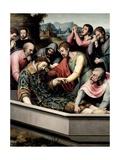 The Burial of Saint Steven, Ca. 1562 Giclee Print by Juan De juanes