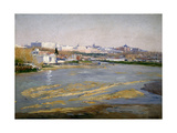 The Manzanares River, 1908 Giclee Print by Aureliano De Beruete