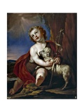 Saint John the Baptist as a Child Giclee Print by Antonio Palomino