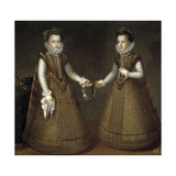 The Infantas Isabel Clara Eugenia and Catalina Micaela, Ca. 1575 Giclee Print by Alonso Sanchez Coello