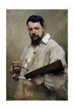 Portrait of Joaquin Sorolla, 1901 Giclee Print by Jose Jimenez aranda