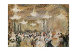 Baile En Palacio Giclee Print by Alejandro Ferrant