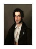 Santiago Miranda, 1836 Giclee Print by Antonio Maria Esquivel