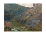 The Tagus, Toledo, 1905 Giclee Print by Aureliano De Beruete
