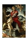 The Sacrifice of Isaac, Ca. 1528 Giclee Print by Andrea Del Sarto