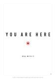 Antoine Tesquier Tedeschi - You Are Here - Poster
