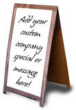 Generic Sandwich Board Lifesize Stand Up Poster Cardboard Cutouts