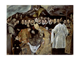 The Burial of the Count of Orgaz, 1586-1588 Giclee Print by Jorge Manuel Theotocopuli
