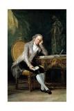 Gaspar Melchor De Jovellanos, 1798 Giclee Print by Francisco de Goya