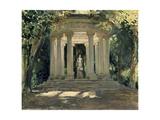 La Villa Adriana De Tivoli (Roma), 1926 Giclee Print by Jose Moreno carbonero