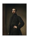 Segismundo Moret Y Quintana, 1855 Giclee Print by Federico De madrazo