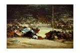 The Bullfight, 18th Century Giclee Print by Francisco de Goya
