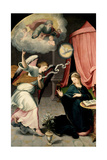 The Annunciation, 1559 Giclee Print by Juan Correa de Vivar