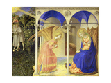 The Annunciation, 1426-1428 Reproduction procédé giclée par Fra Angelico