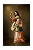 Allegory of Charity, ca. 1655 Giclee Print by Francisco de Zurbaran