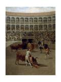 Pase De Capa-La Capea, 1793 Reproduction procédé giclée par Francisco de Goya