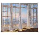 Morning Breeze Affiches par Carol Saxe