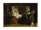 Queen Isabel La Católica Dictating Her Last Will and Testament, 1864 Giclee Print by Eduardo Rosales
