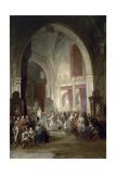 Interior De La Catedral De Toledo, 1850 Giclee Print by Jenaro Perez Villaamil
