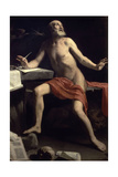St. Jerome, 1657-1658 Giclee Print by Cagnacci Guido