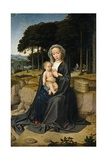 Rest on the Flight from Egypt, Ca. 1515 Giclee Print by Gerard David