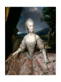 Maria Carolina of Austria, Queen of Naples, Ca. 1768 Giclee Print by Anton Raphael Mengs