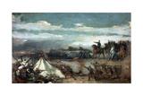 Episodio De La Batalla De Tetuan, 1860 Giclee Print by Eduardo Rosales