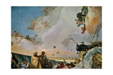 Throne Room: the Glory of Spain, Allegory of Africa, 1762-1766 Giclee Print by Giovanni Battista Tiepolo