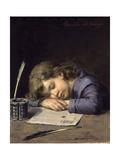 Rendido Del Trabajo, 1876-1900 Giclee Print by Jose Perez Siguimboscun