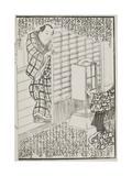 Ilustración De La Novela De Tamegawa Shunsui Jidai Kagami (La Era Del Espejo), 1864 Giclee Print by Wakasaya Yoichi