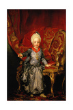 Francis II, Holy Roman Emperor, 1770 Giclee Print by Anton Raphael Mengs