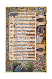 Book of Hours of King Charles VIII of France, 1494 Giclee Print by Jacques Besançon