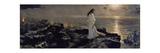 Jesus En El Lago Tiberiades, 1909 Wydruk giclee autor Antonio Muñoz degrain