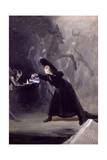 A Scene from El Hechizado Por Fuerza (The Forcibly Bewitched) C.1797-1798 Giclee Print by Francisco de Goya