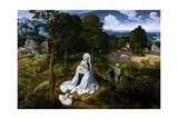Rest on the Flight into Egypt, 1518-1520 Giclee Print by Joachim Patenir