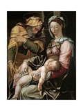 The Holy Family, Ca. 1550 Giclee Print by Jacopo Dal Conte