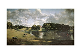English School. Wivenhoe Park, Essex Gicleetryck av John Constable