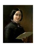 Sofía Vela Y Querol, 1850 Giclee Print by Federico De madrazo