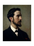 The Painter Eduardo Rosales, 1867 Giclee Print by Federico De madrazo