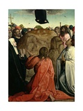 The Ascension, 1514-1519 Giclee Print by Juan de Flandes