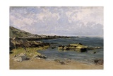 Low Tide (Guethary), Ca. 1881 Giclee Print by Carlos de Haes