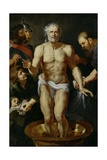 The Death of Seneca, 1612-1615 Giclee Print by Peter Paul Rubens