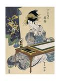 Chôjiyanai Hinatsuru, Ca. 1810 Giclee Print by Ichibei Izumiya