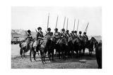 Deployed Cossack Cavalry Photographic Print