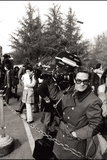 Pier Paolo Pasolini with a Camera on His Back Photographic Print